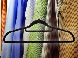 Комплект 5бр. кадифени закачалки за дрехи