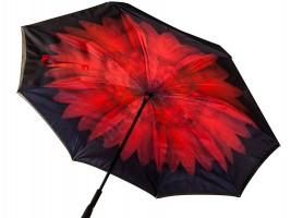 Чадър с обратно затваряне