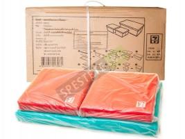 Комплект текстилни сгъваеми табуретки