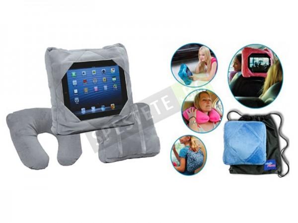 Възглавница с поставка за таблет или смартфон