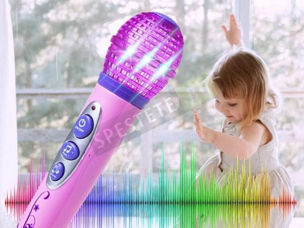Детски караоке микрофон
