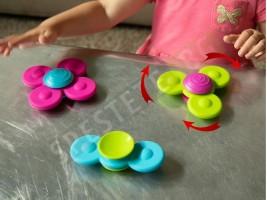 Комплект 3бр. бебешки фиджет дрънкалки