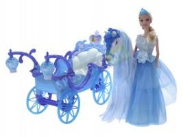 Принцеса Eлза с каляска