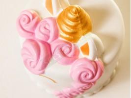 Скуиши играчка торта еднорог Squishies