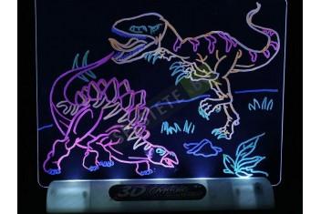 3D Дъска за рисуване с LED светлина