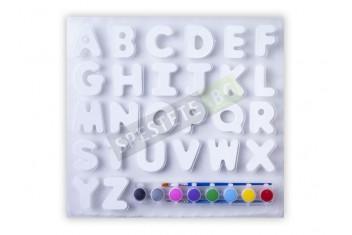 Букви за оцветяване