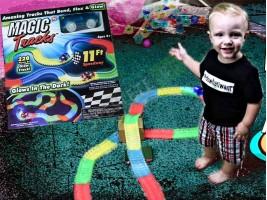 Детска светеща писта Magic Tracks