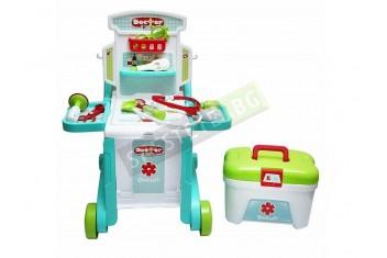 Детски лекарски комплект играчка в куфар