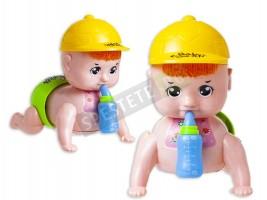 Пълзящо бебе кукла