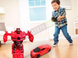 Трансформърс кола робот с дистанционно управление