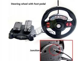 Детска кола с дистанционно управление волан