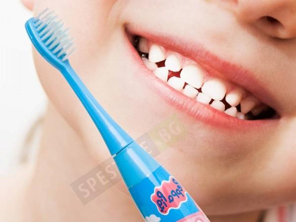 Електрическа детска четка за зъби