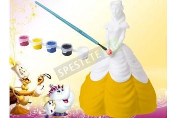 Принцеса касичка за оцветяване
