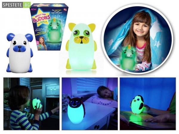 Детска Нощна Лампа Bright Time Buddies
