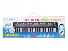 Детски електронен синтезатор с микрофон