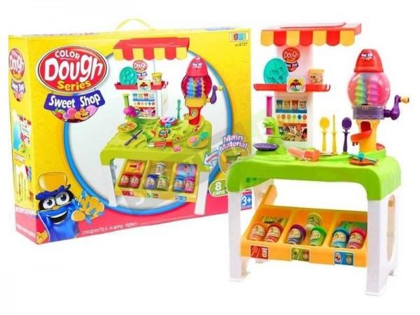 Магазин за сладки с моделин