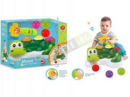 Музикален крокодил играчка