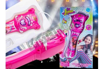 Детска играчка караоке микрофон