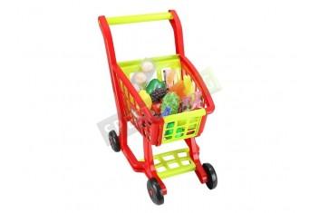 Детска пазарска количка с 27 аксесоара