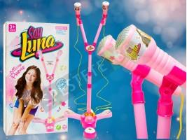 Детски микрофон със стойка Soy Luna