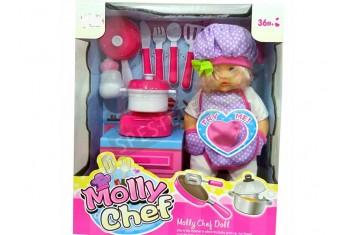 Музикална кукла готвач