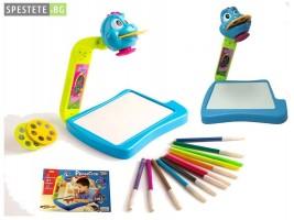 Детски проектор за рисуване 2 в 1