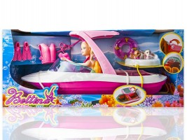 Комплект Барби с лодка