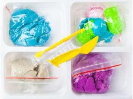 Детски пясък за моделиране Замръзналото кралство