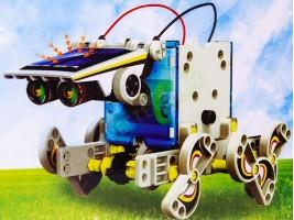 Конструктор соларен робот 14в1