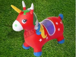 Надуваема играчка за яздене и скачане