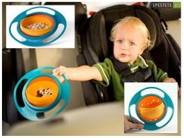 Неразливаща се детска купа за хранене