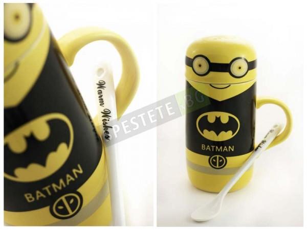 Подаръчна чаша миньон супер герой
