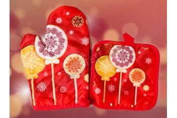 Коледен комплект за маса