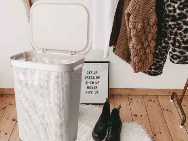 Кош за пране с капак 50л