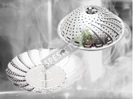 Метална кошница за готвене на пара