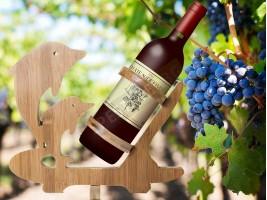 Поставка за бутилка вино