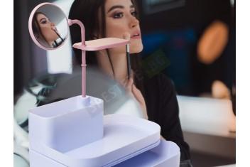 Козметичен органайзер с огледало