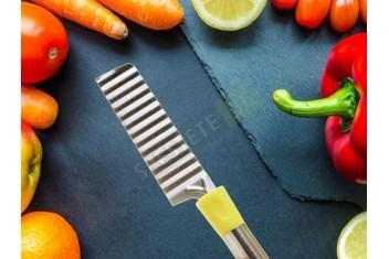 Вълнообразен нож за зеленчуци и кашкавал