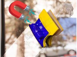Магнитен уред за почистване на прозорци