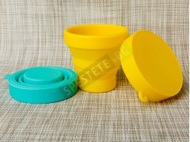 Комплект 3бр. сгъваеми чаши