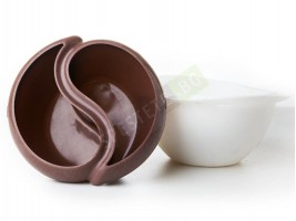 Силиконова купа за шоколадово фондю