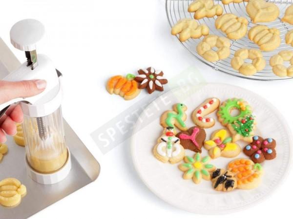 Дозатор шприц форма за сладки