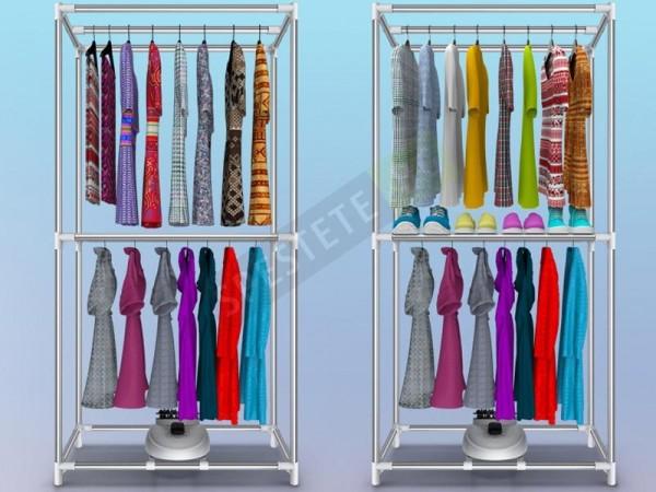 Комбиниран гардероб и сушилня