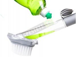 Четка за измиване с дозатор за сапун