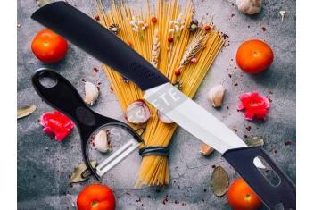 Керамичен нож и белачка