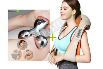 Шиацу масажор + 3D масажор