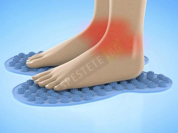 Масажираща постелка за краката
