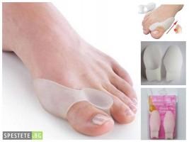 Силиконов разделител за палеца и малкото пръстче на крака