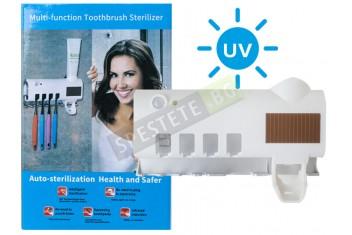 Соларен стерилизиращ диспенсър за паста за зъби