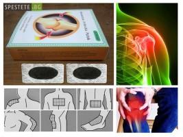 Натурални антиартритни лепенки против болки от ТАЙМ - МС ООД